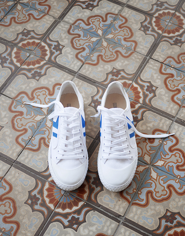 Plimsole Lace_up sneaker