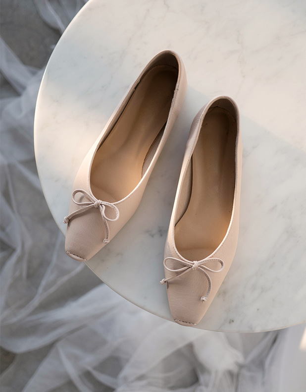 Porsel Leather Ballet Flats