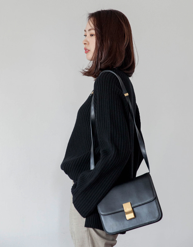raglan slit Turtleneck(한정10%DC)