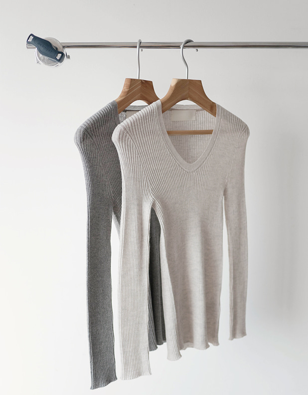 18 UV_neck wool knit(한정 30% DC)