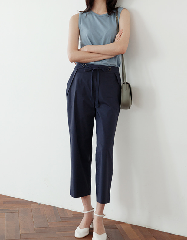H_Cotton Trousers