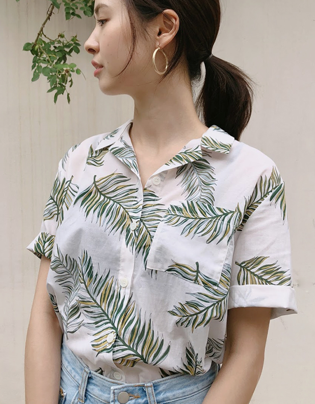 Bloom Shirt_Green