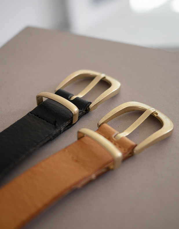 9605_April Leather Belt