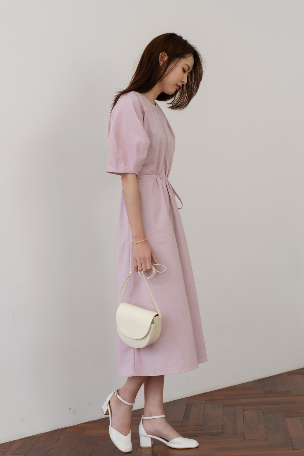 9827_PINK Graceful Dress