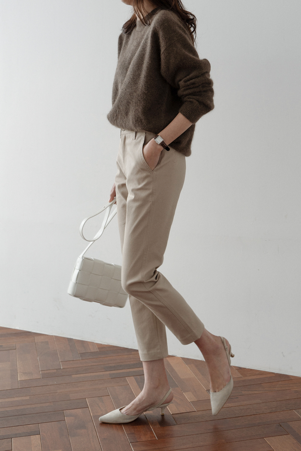2589_Slim Basic Pants