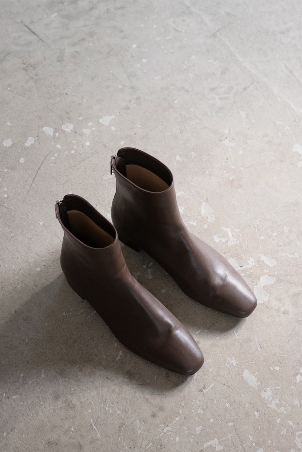 3488_Mocha Ankle Boots