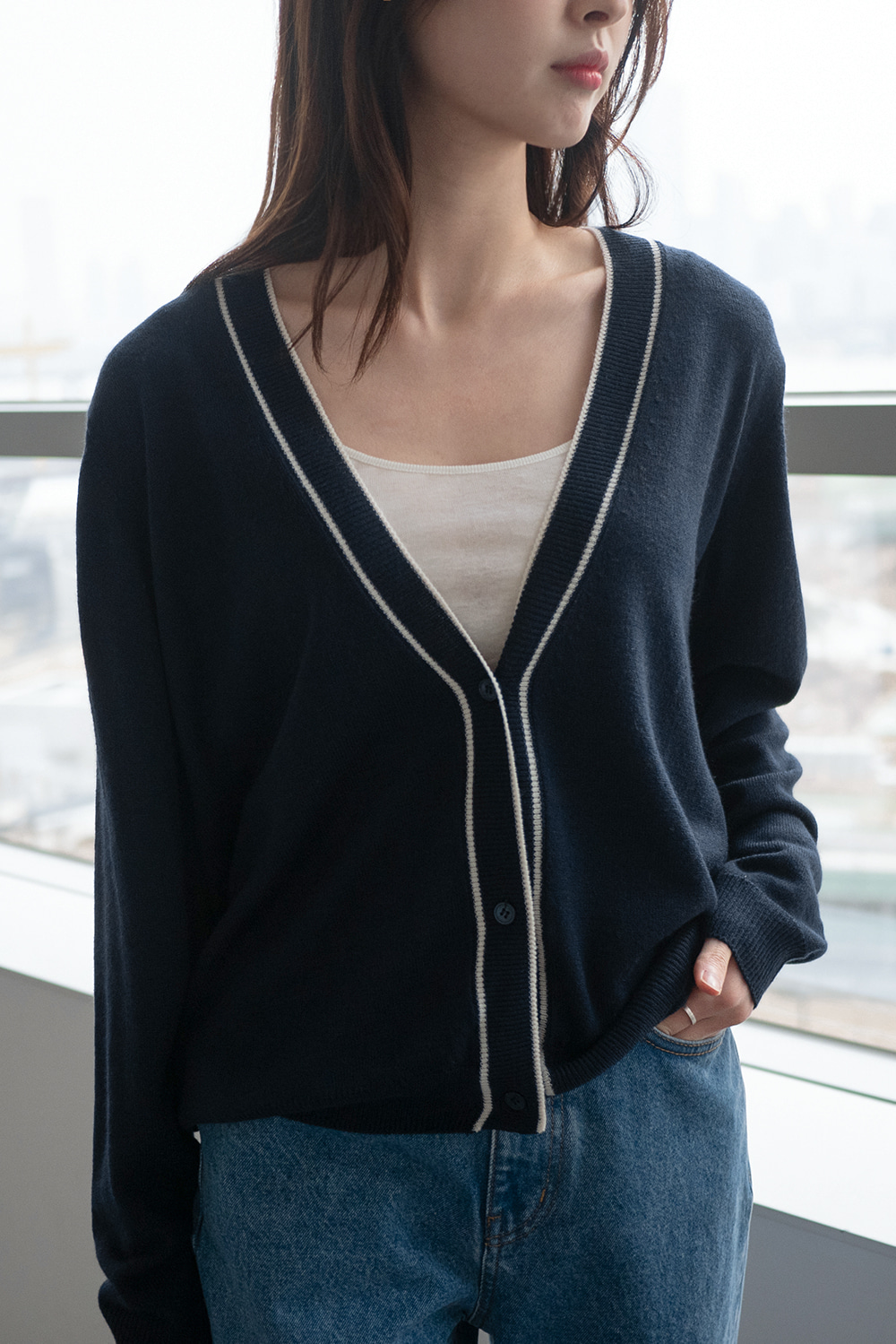 4362_Color Design Cardigan [ New Season / 10% DC ] 15일 PM 6 마감