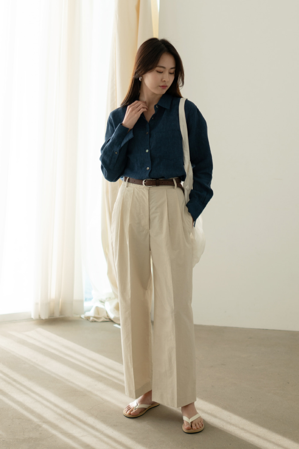 6274_wrinkle pocket pants