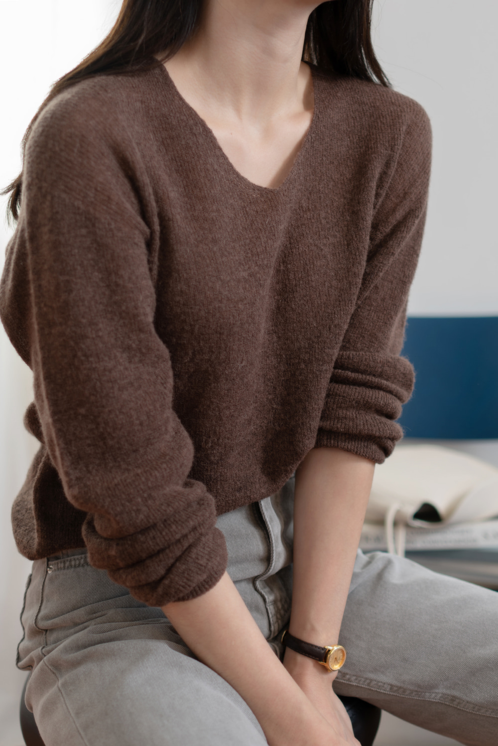 7689_Whole garment V Knit