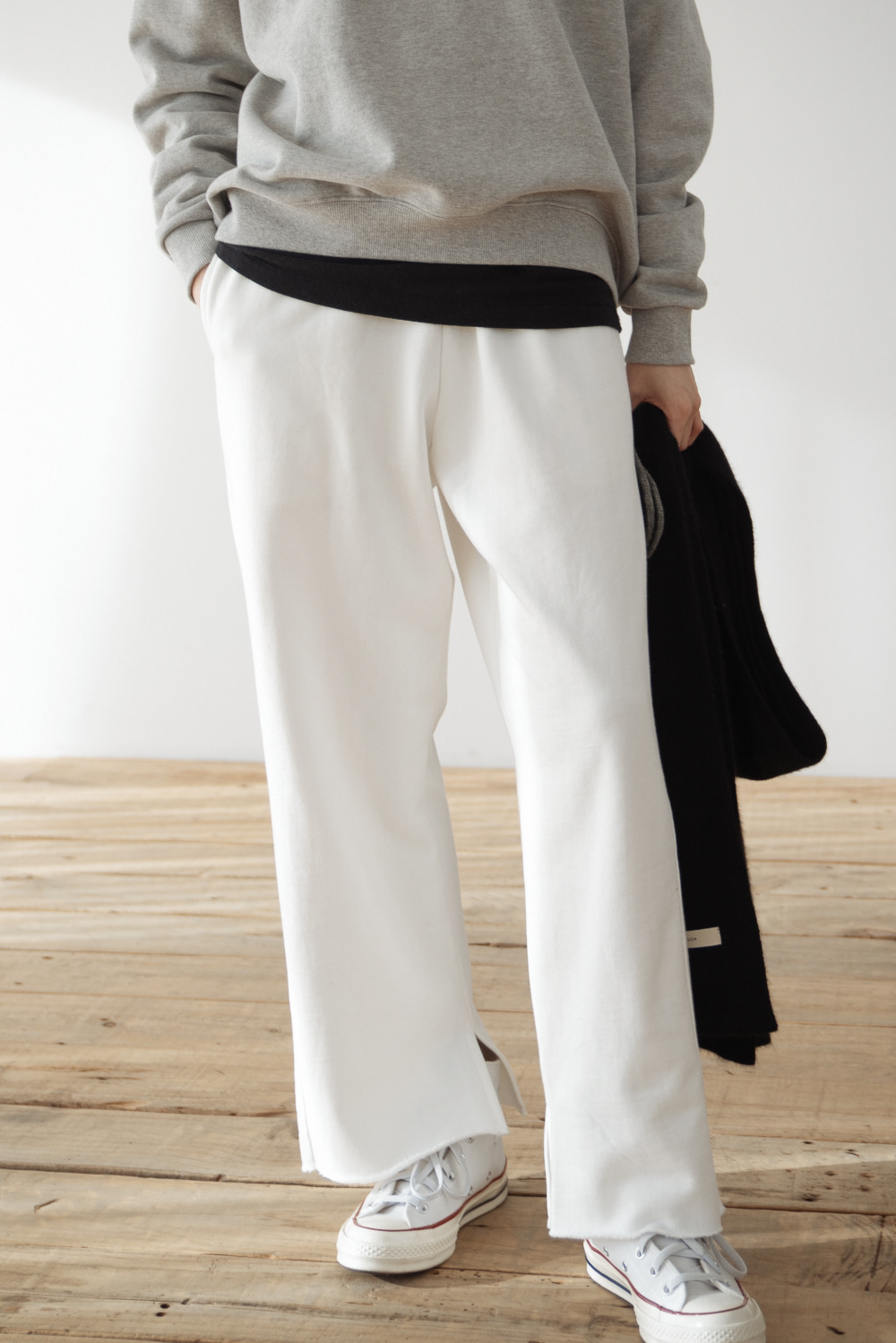 9037_Mellow slit band pants