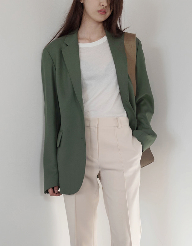 Moss tailored jacket