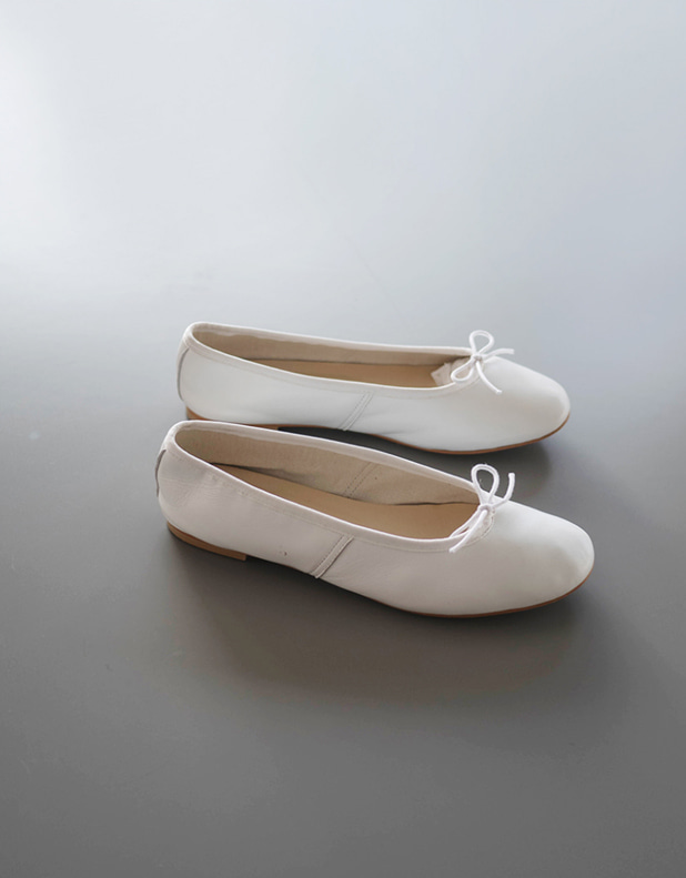 Lisa Leather Ballet Flat