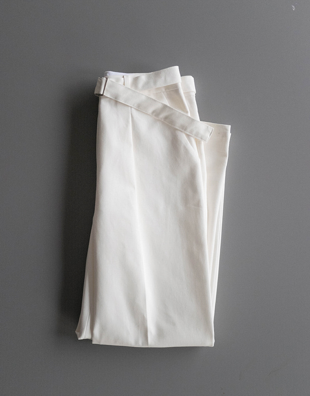 Cotton belted Pant(한정 40% DC)