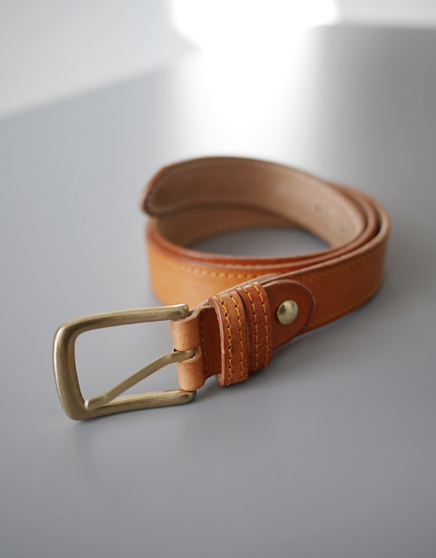 custom Belt_Camel
