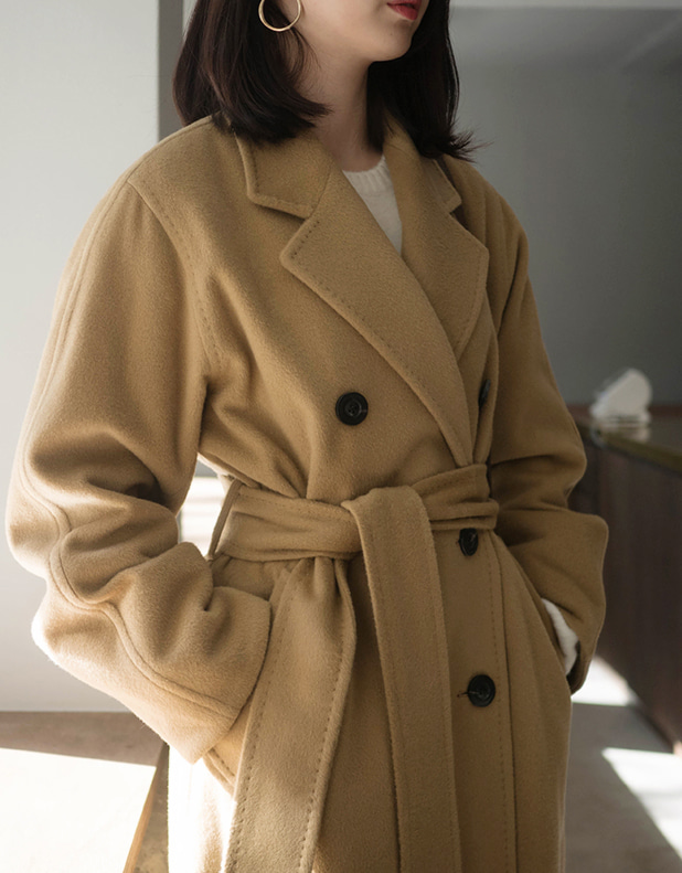 cashmere double Coat(한정 10% DC)