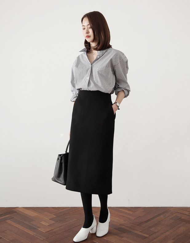 Cel Cashmere Skirt(today 5% DC)_22일 pm6시 마감