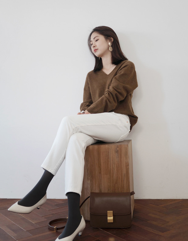 Cashmere relax Knit