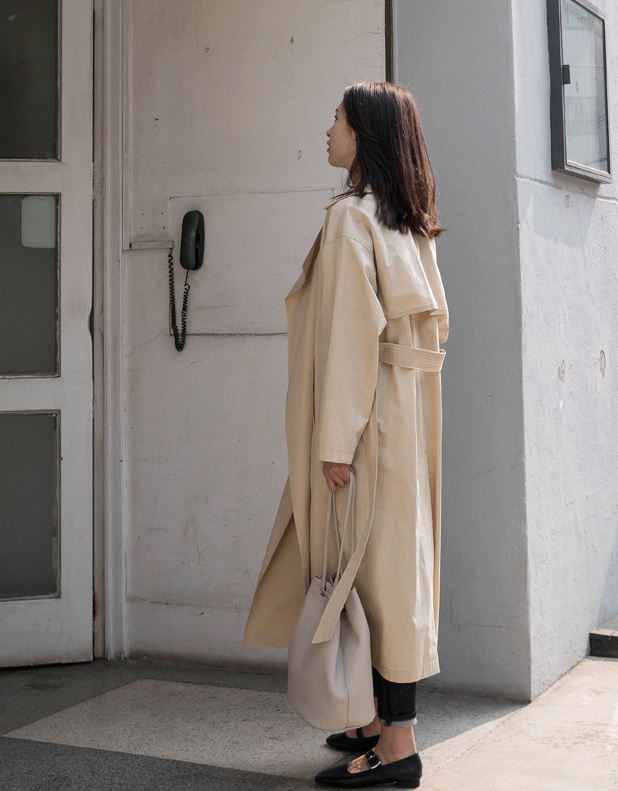 Open Trench Coat