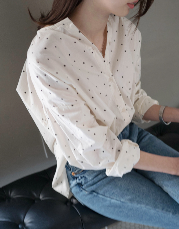 Maison DOT Blouse(today 5% DC)_26일 pm6시 마감