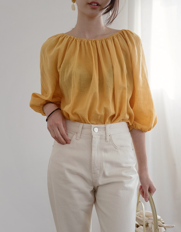 off shoulder Blouse(today 5% DC)_25일 pm6시 마감