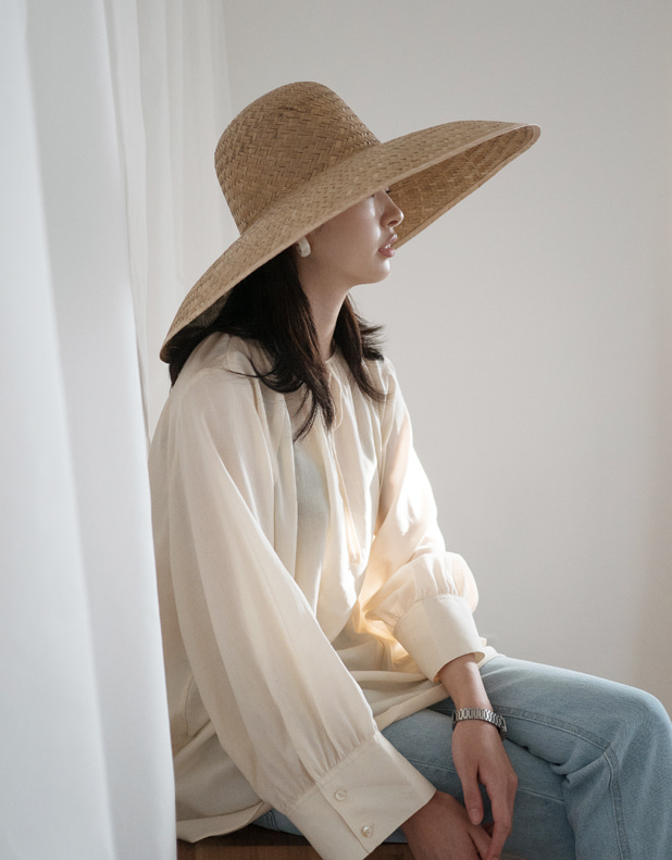 Cotton shirring Blouse(한정 20% DC)