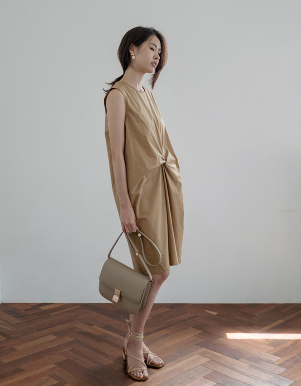 Drape Cotton Dress [ 한정 30% DC ]