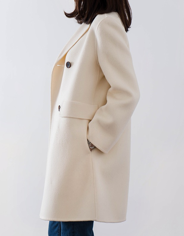 8263_Double Breasted Coat