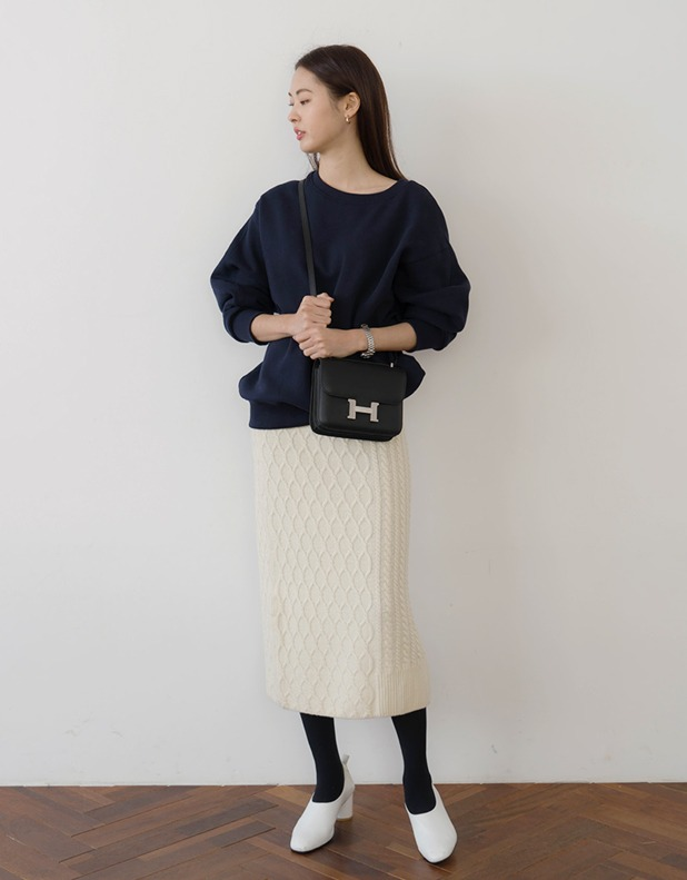 8427_Duality Knit Skirt