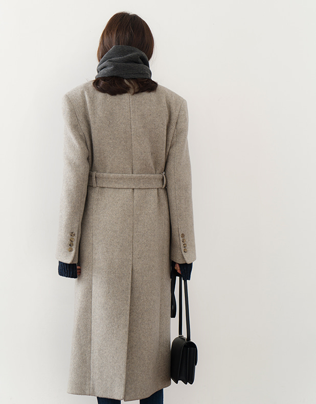 8731_Wool Herringbone Coat [ Early Bird 10% DC ]