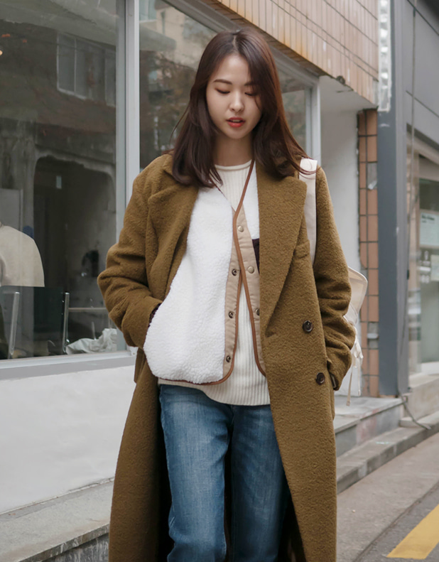 8666_Long Alpaca Coat