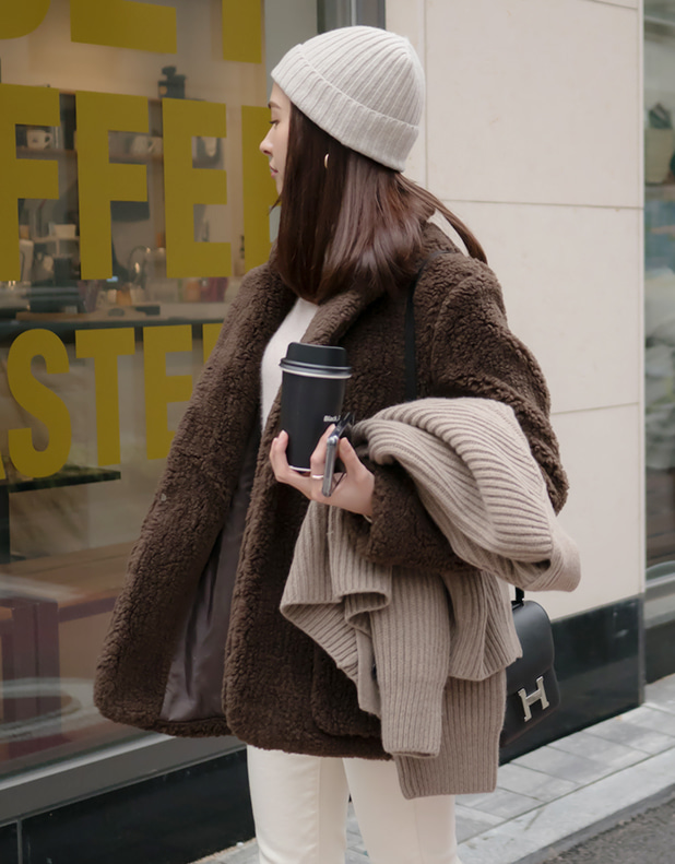 8690_Fur Coat [ Early Bird 10% DC ][입고지연]