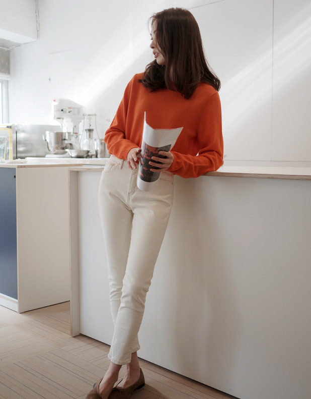 8795_Merino Wool Round Knit[입고지연]