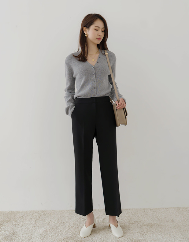 8901_BLACK Trousers