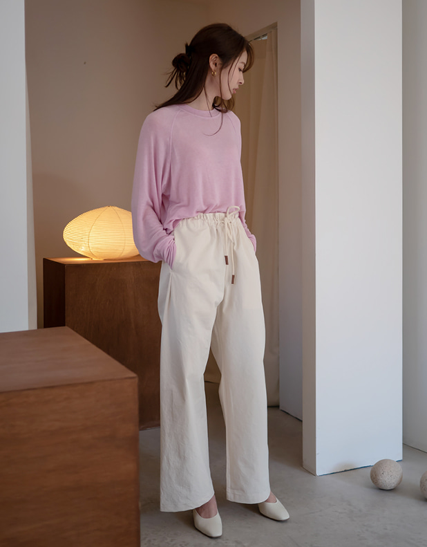 9495_string wide pants