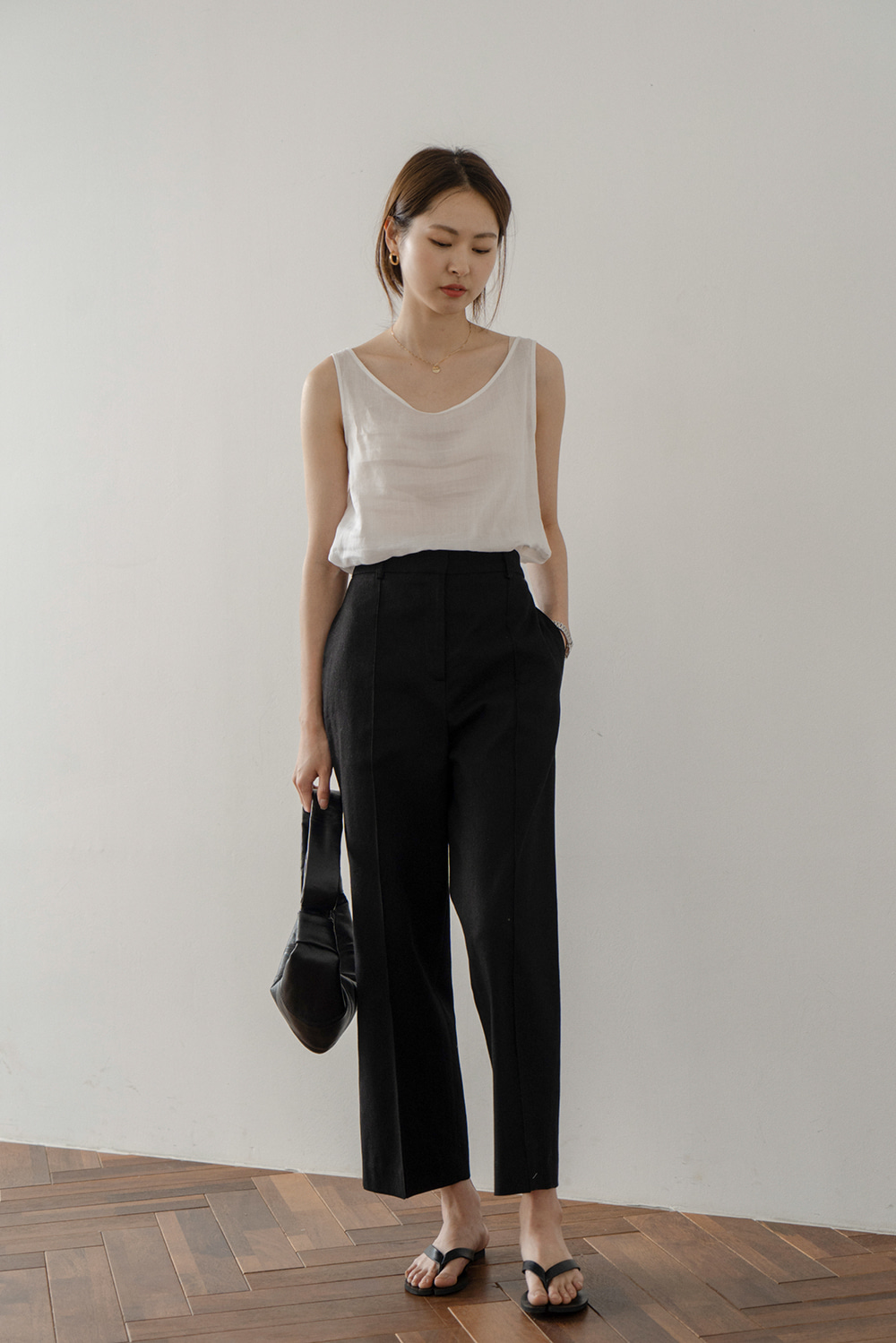1134_Linen Pintuck Trousers [ TODAY 5% DC ] 22일 PM6시 마감
