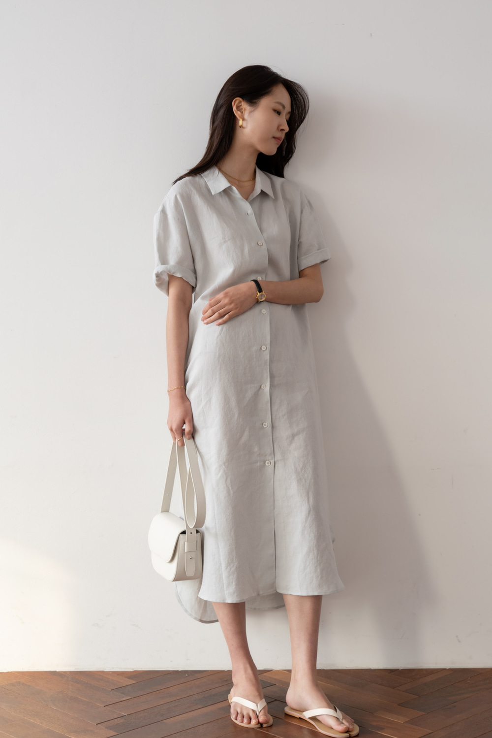 2193_Ende Shirt Dress  [ Pre_Order 10% DC ]