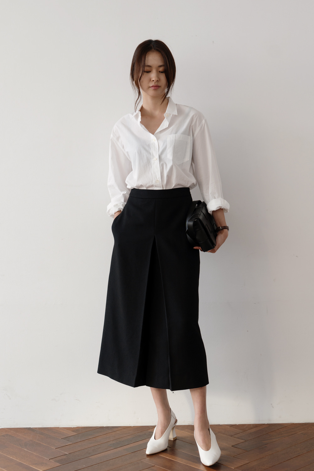 2388_Handmade Pleated Skirt