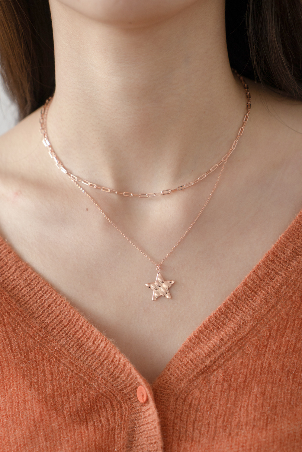 2460_Rose Star Necklace