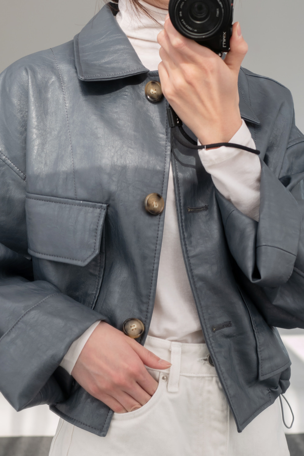 4165_Road Leather Jacket