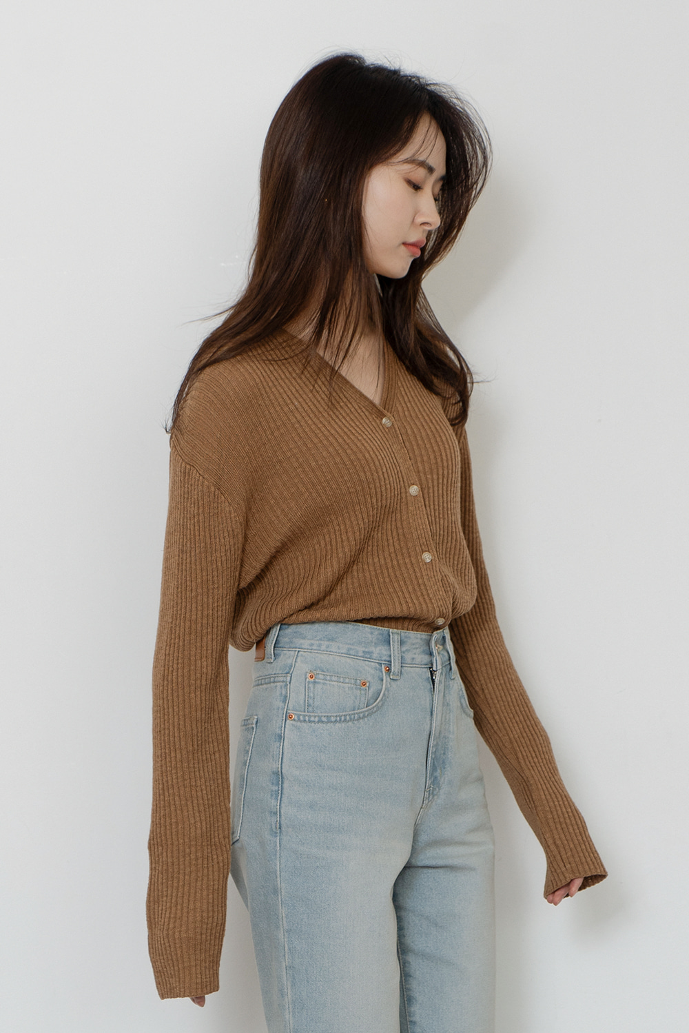 4406_Cotton Rib Cardigan [2/26-2/28 입고예정]
