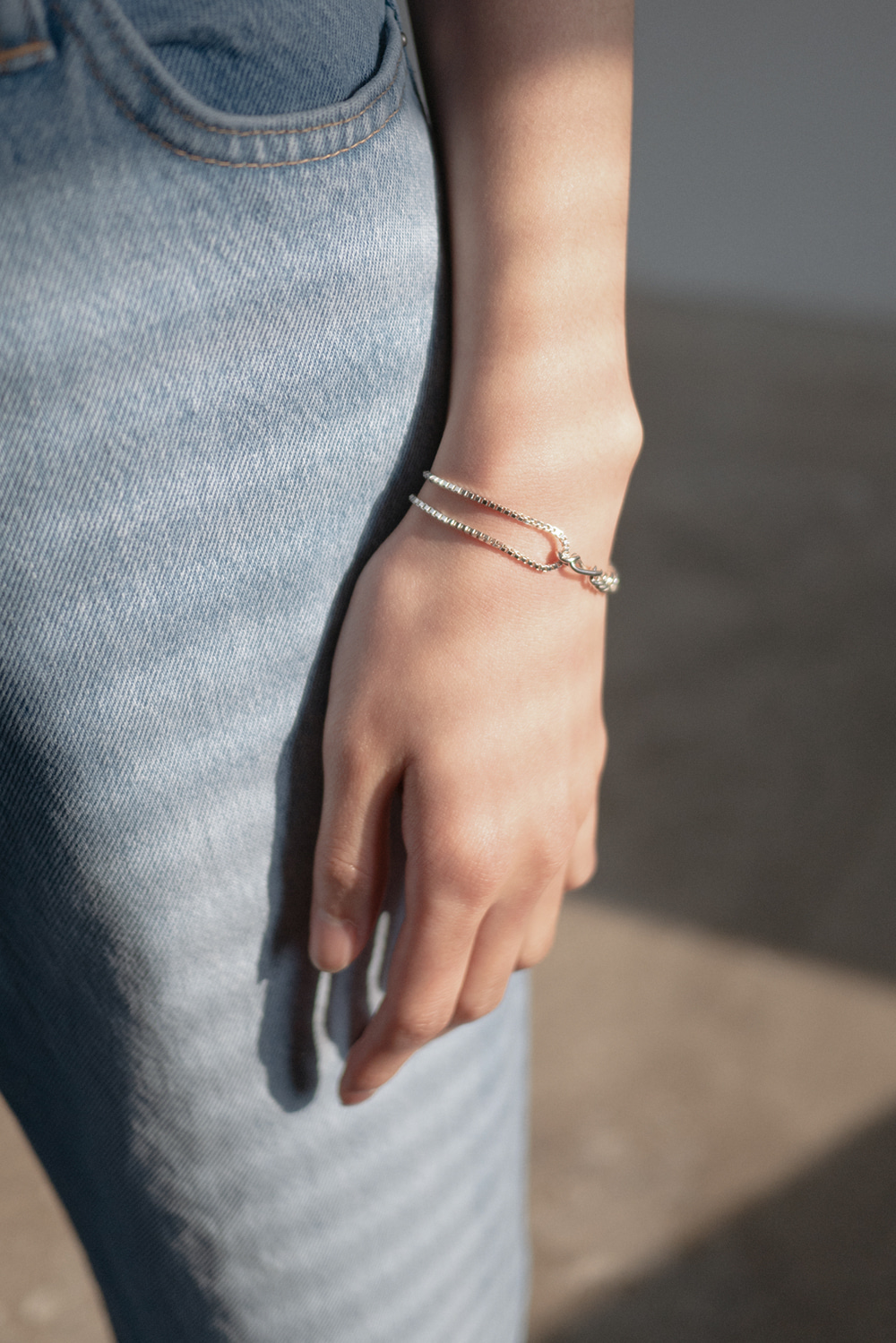 4918_Cross Chain Bracelet [ New Season / 10% DC ] 24일 PM 6 마감