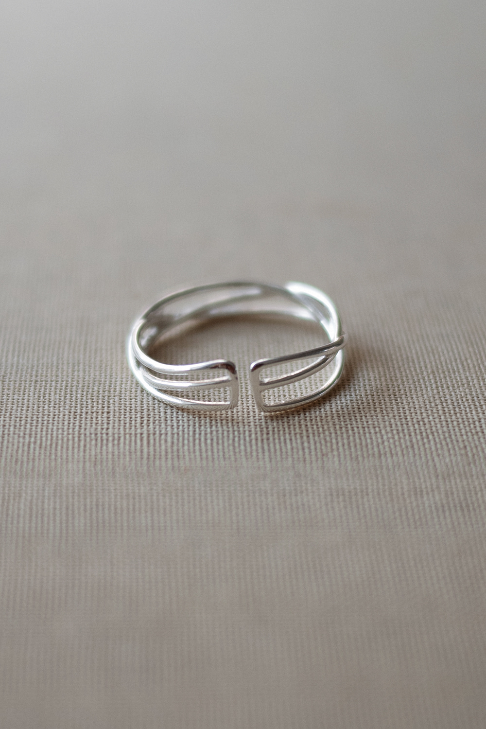 4909_Wave Silver Ring [ New Season / 10% DC ] 24일 PM 6 마감