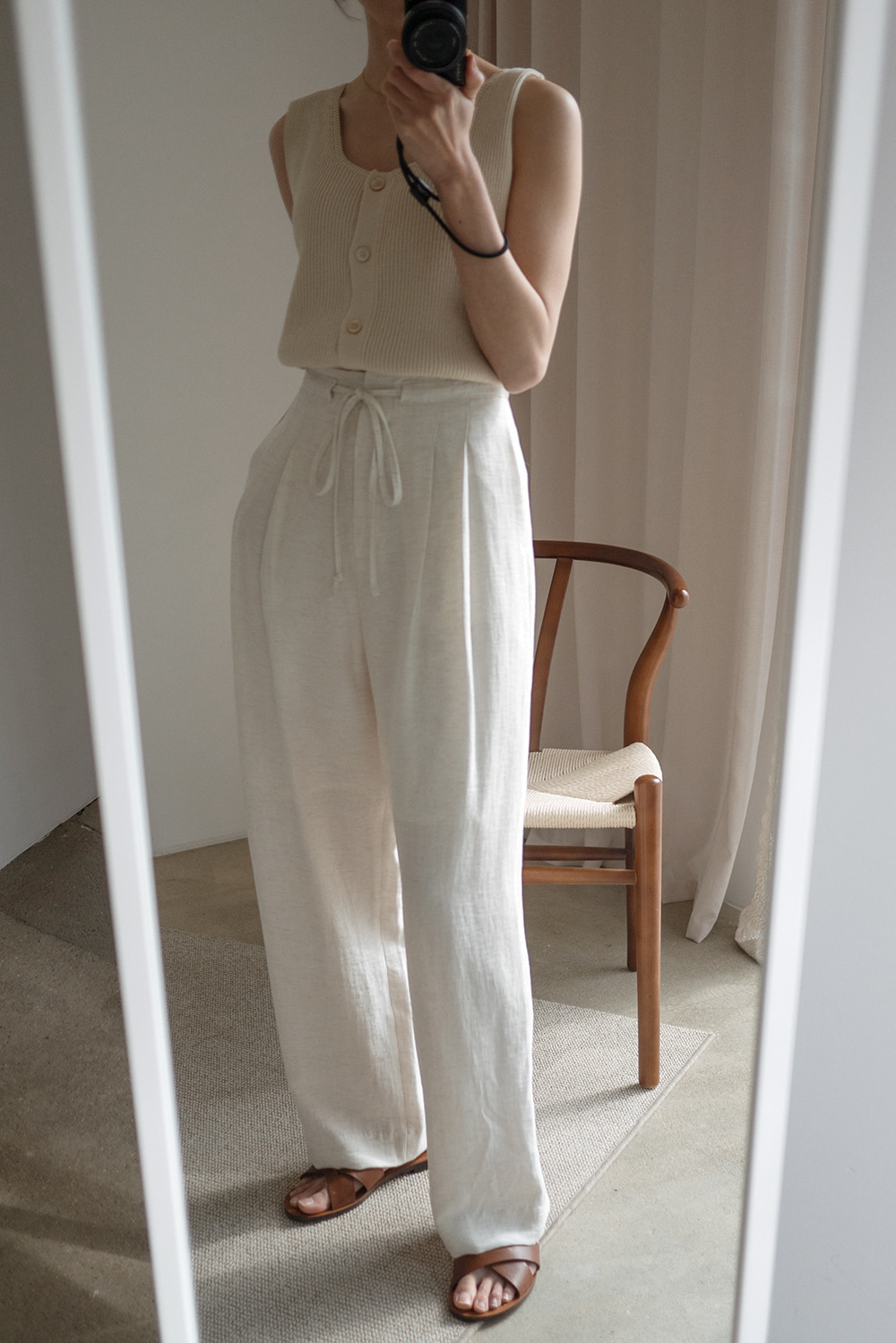 5948_String Twill Trousers