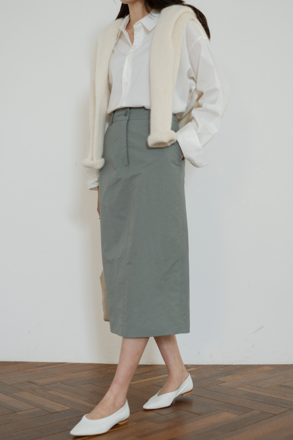 7419_Cotton Wrinkle Skirt
