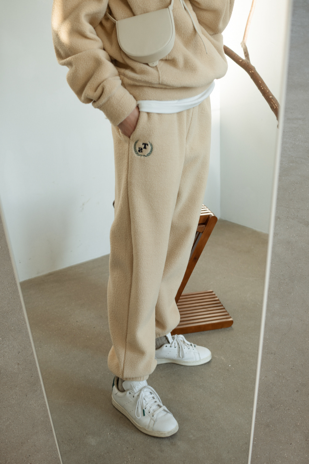 9265_TS embroider band pants