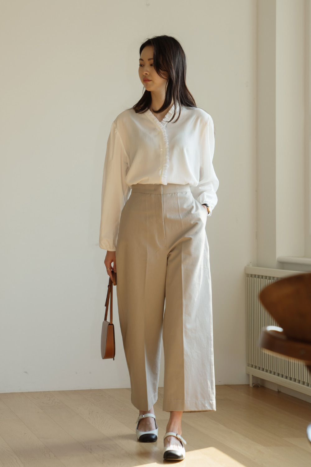 9705_Cropped Cotton Trousers