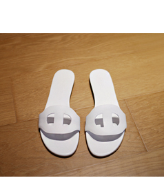 white_Sandalo Slipper>
