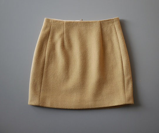 Cashmere mini Skirt