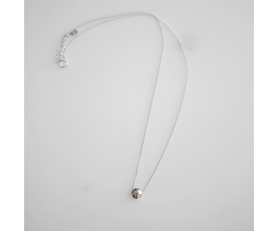 Flat Ball Necklace
