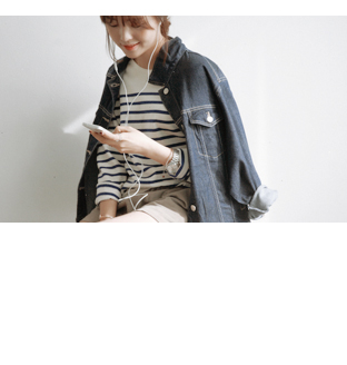 smoky_Marc Denim jacket30%